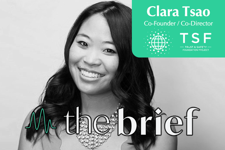 The Brief: Clara Tsao's newly-launched Trust & Safety Professionals Association